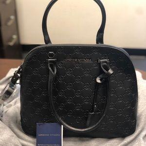 Brand New Adrienne Vittadini Dome Satchel Bag
